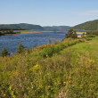 Stock Photo: Fjord of Tadoussac