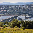 Bridge near Quebec, Canada — Stockfoto #1259927