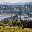 Stock Photo: Bridge near Quebec, Canada