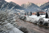 Dolomites Winter, Italy — Stock Photo