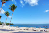 Coast of The Keys, Islamorada, Florida, — Stock Photo
