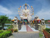 Temple in Koh-Samui, Thailand, August 20 — Stock Photo