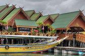 Fishermen Village, Krabi, Thailand, Augu — Stock Photo