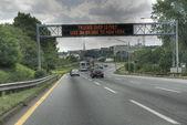 Vägen mot new york city 2008 — Stockfoto