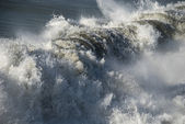 Crushing Wave, Lido di Camaiore, 2008 — Stock Photo