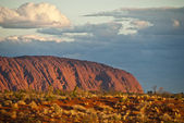 Sunset at Ayers Rock, Northern Territory — Stock Photo