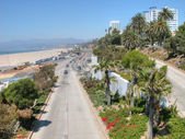 Santa Monica Coast, August 2003 — Stock Photo