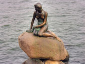 Little Mermaid, Copenhagen — Stock Photo
