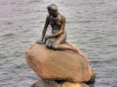 Little Mermaid, Copenhagen — Stock Photo