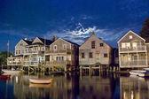 Nantucket Homes — Stock Photo