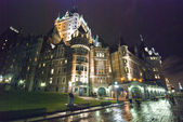 Hotel de frontenac, quebec, kanada — Stok fotoğraf