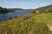 Fjord of Tadoussac — Stock Photo