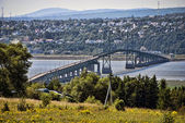 Bridge near Quebec, Canada — Stock Photo