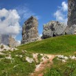 Dolomites Mountains, Italy, Summer 2009 - Foto de Stock