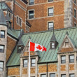 Hotel de Frontenac, Quebec, Canada — Stock Photo