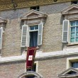 Stock Photo: PiazzSPietro, Roma, Pope Window