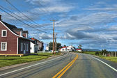 Quebec Road, Canada — Stock Photo