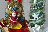 Christmas Decorations, Italy — Stock Photo