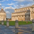 Side view of Baptistery, Pisa - Stockfoto
