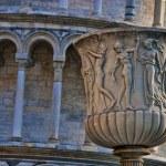 Battistero, Piazza dei Miracoli, Pisa — Stock Photo