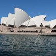 Detail of Sydney on a Winter Morning - Stock Photo