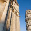 Detail of Piazza dei Miracoli — Stock Photo