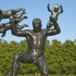 Sculpture Detail in a Park of Oslo — Stock Photo #2172905