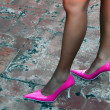 Pink Sexy Shoes — Stock Photo