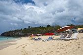 Saint Maarten Coast, Dutch Antilles — Stock Photo