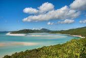 Whitehaven Beach, Queensland, Australia — Stock Photo
