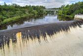 Montmorency falls, quebec, canadá — Foto de Stock