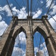 wolkenkrabbers van new york city — Stockfoto