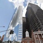 new york şehrinin gökdelenleri — Stok fotoğraf