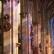 Stock Photo: Ulm cathedral gothic interior