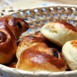 St. Lucia swedish sweet buns — Stock Photo
