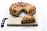 Puff pastry pie — Stock Photo