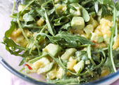 Avocado mango salad — Stock Photo