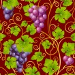 Royalty-Free Stock Photo: Seamless grape pattern