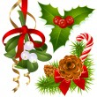 Christmas decoration — Vector de stock #1261854