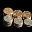 Stack of Coins — Stock Photo