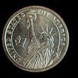 Statue of Liberty Coin — Stock Photo