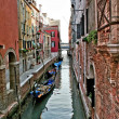 Stock Photo: Venice Water Alley