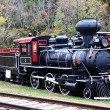 Stock Photo: Coal Engine Train