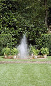 Garden Fountain — Stock Photo