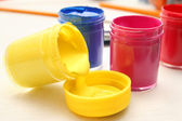 Bright colors of gouache — Stock Photo