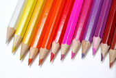 Pencils' rainbow — Stock Photo