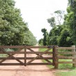 Rural Gate - Stock Photo