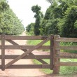 Rural Gate — Stock Photo
