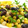 Royalty-Free Stock Photo: Bean salad