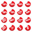 Royalty-Free Stock Vector Image: Vector sale tag stickers set